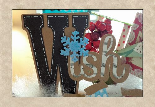 W IS FOR WISH - W LETTER SET - LISA MINCKLER