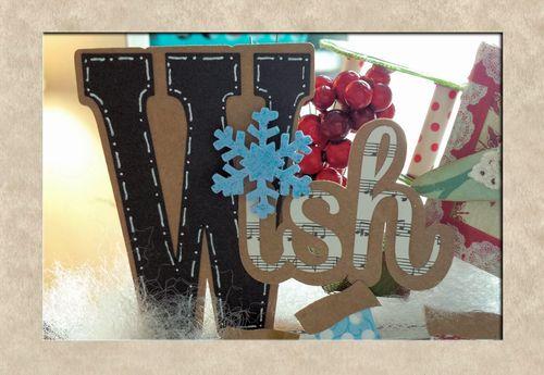 W IS FOR WISH - W LETTER SET - LISA MINCKLER