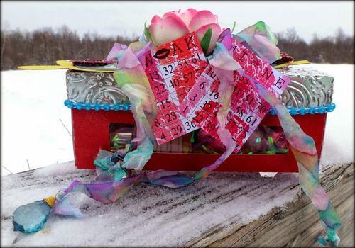 Hershey Kiss Window Box - Mitra Pratt