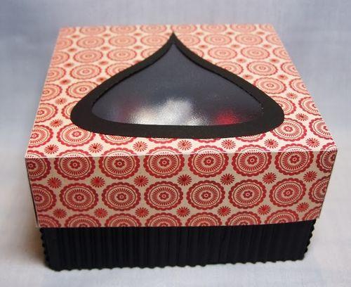 Hershey kiss window box 2 - Debbie Fisher