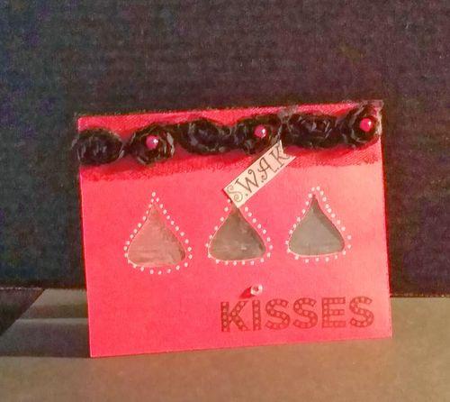 Kisses - Reketa Brown - Hershey Kiss Window Card set