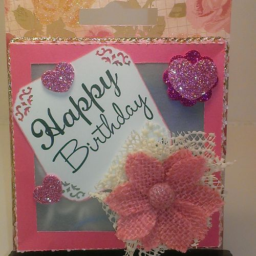 Handmade embellishment box - Chauntelle Lee