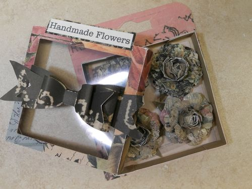Handmade Embellishment box and Bow tie set - Tmika Miller