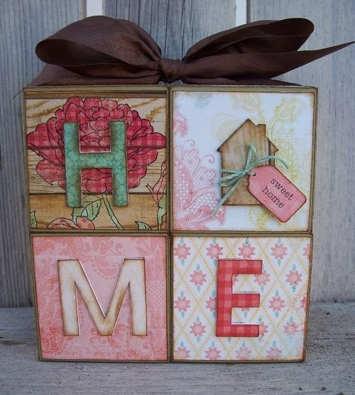 HOME - Debbie Fisher - fun with blocks