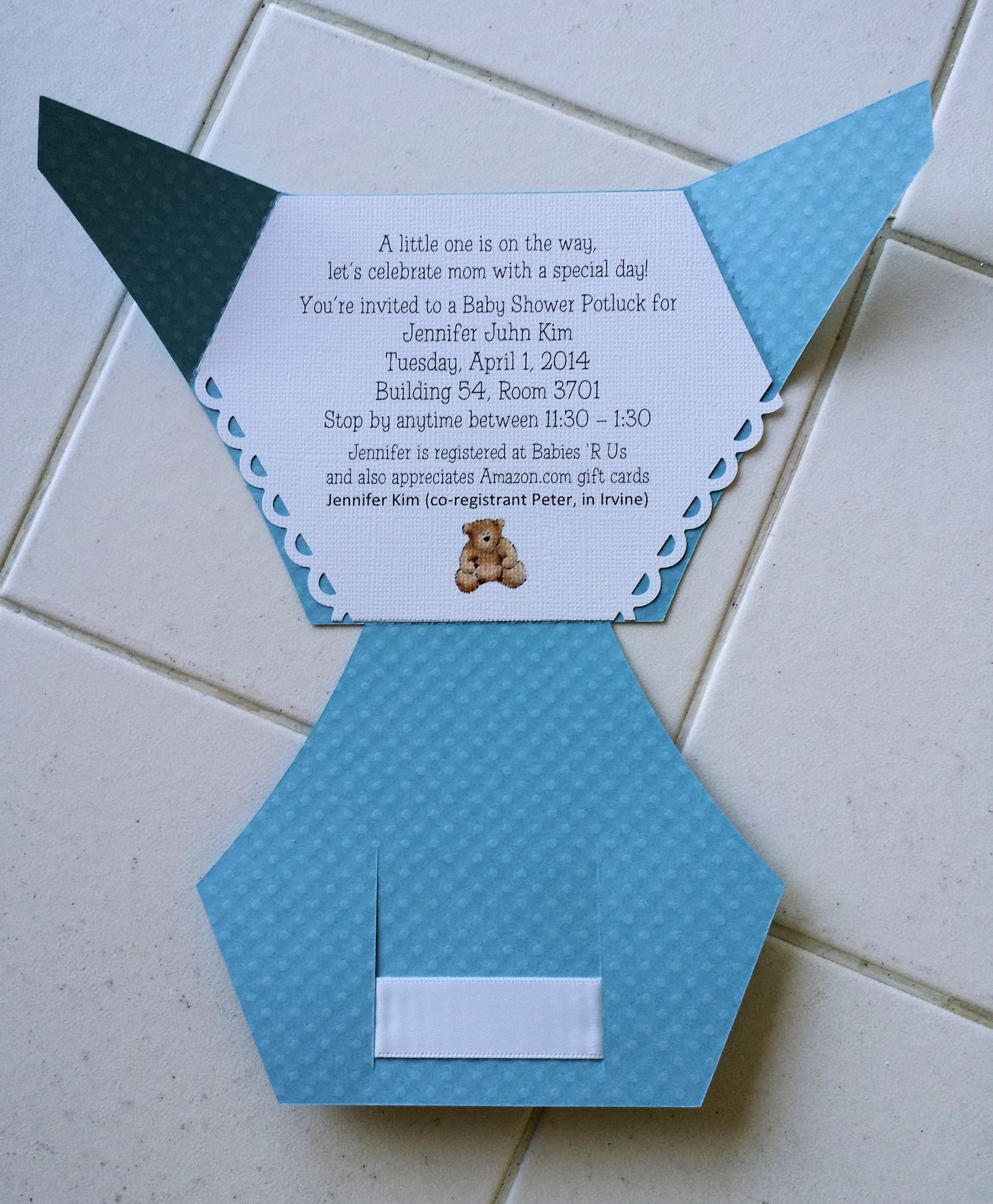 Printable Paper Diaper Template Baby Shower Invites Templates For
