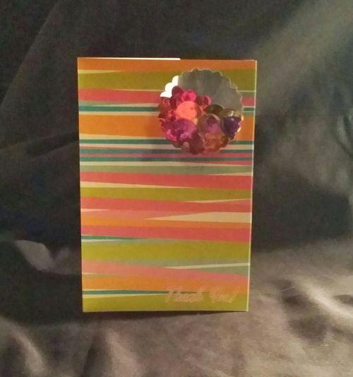 Reketa Brown - Scallop shaker card