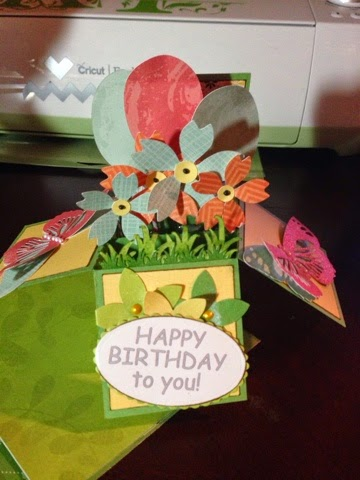 Happy birthday to you - Keri Parish - Card in a box set