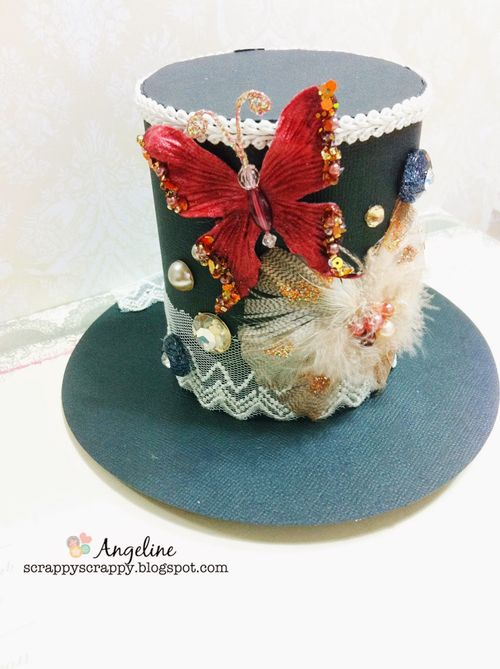 Top hat - Angeline Choo