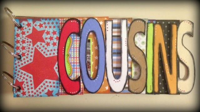COUSINS WORD BOOK - TINA GOODWIN