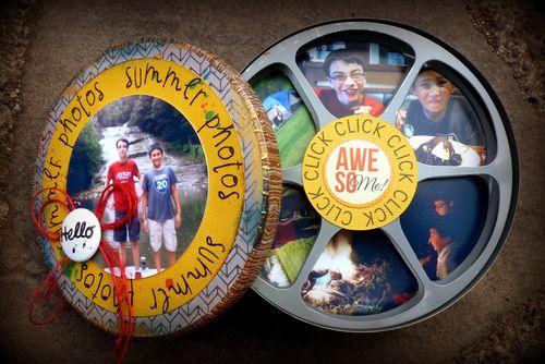 CLICK CLICK - Mitra Pratt -  CAMERA PHOTO SHAPED HOLDER TEMPLATE