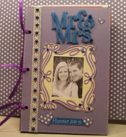 MR. AND MRS WEDDING PLANNER - RHONDA ZMIKLY - THE PLANNER SET