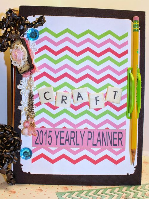 Craft planner - Chauntelle Lee - The planner set