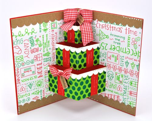 The Cutting Cafe ASSORTED POP UP CARDS TEMPLATES AND CUTTING FILES - Card template free: golf christmas cards