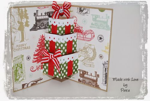 Christmas Card - Petra - assorted pop ups