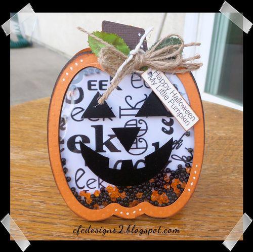 Halloween and fall shaker cards -Dee Jones
