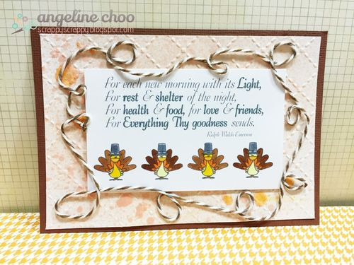 Thanksgiving Day - Angeline Choo