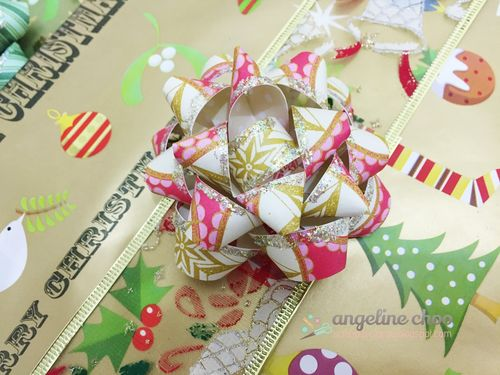 Angeline Choo- Gift Bow template