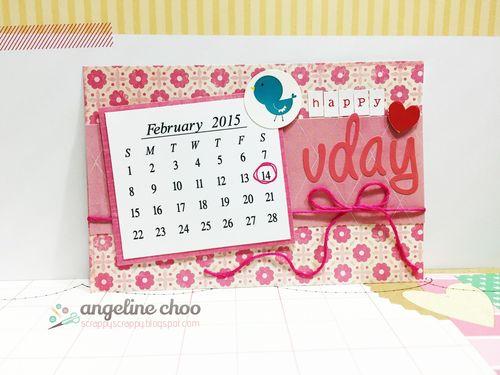 2015 CALENDAR SET - ANGELINE CHOO