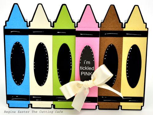 Crayon pink 4