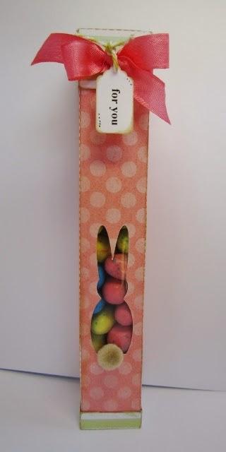 Skinny tube bunny box - Debbie Fisher