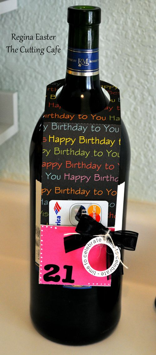 t shaped bottle the cutting cafe wine bottle gift tag set template and cutting