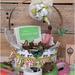 Round Easter Basket - Lisa Minckler