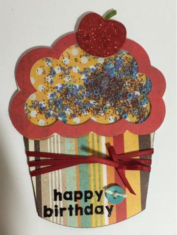 Cupcake shaker - Keri Parish