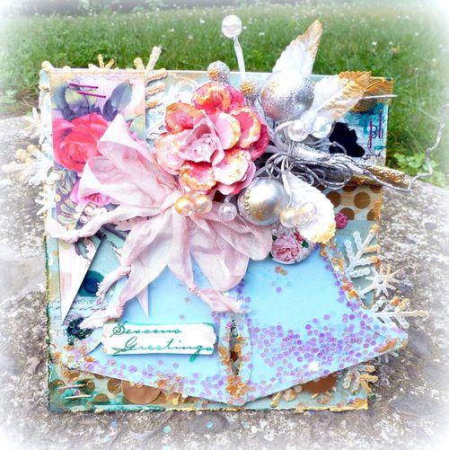 Bell shaker card - Mitra Pratt