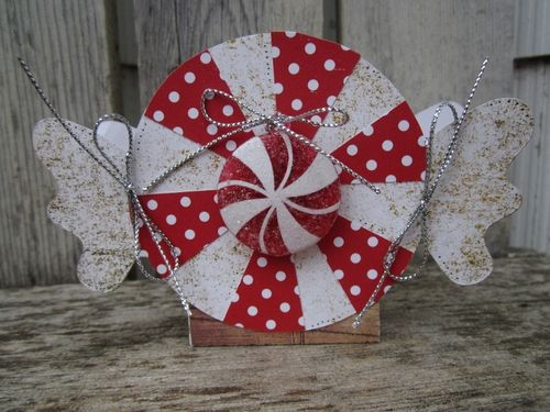 Peppermint treat box - Debbie Fisher