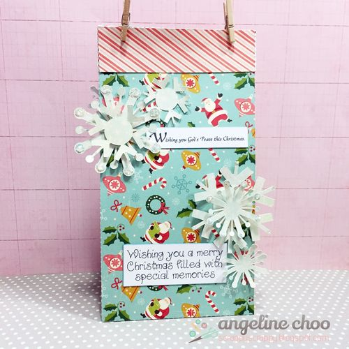 CHRISTMAS BASIC SHAPES AND FUN WITH LUNCH BAGS - ANGELINE CHOO