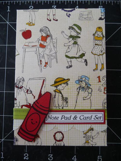Mini note pad and card set - Jeri Thomas