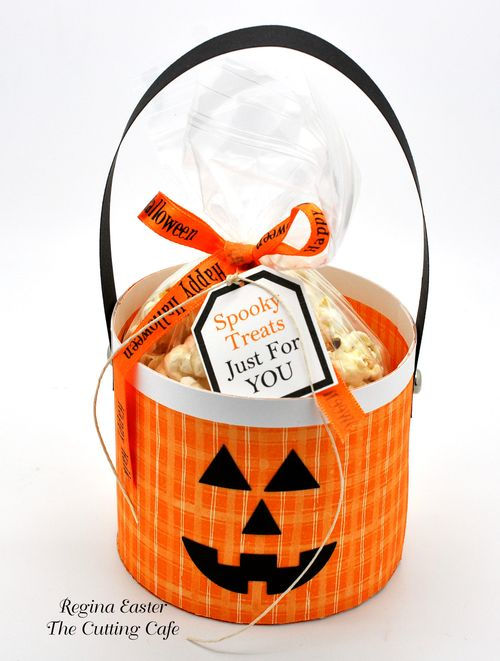 The Cutting Cafe Pumpkin Treat Cup