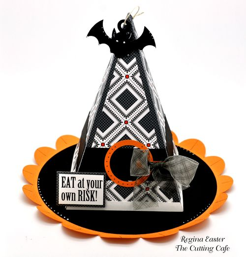 The Cutting Cafe Witch Hat Box Template And Cutting File