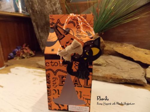 Halloween and fall milk cartons and assorted milk cartons - Rhonda Emery
