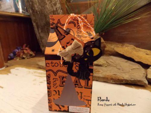 Halloween and fall milk cartons and assorted milk cartons - Rhonda Emery