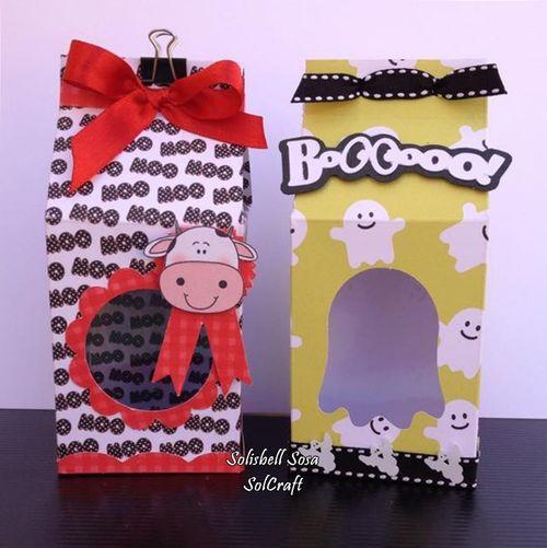 Halloween and fall milk cartons and assorted milk cartons - Solisbell Sosa