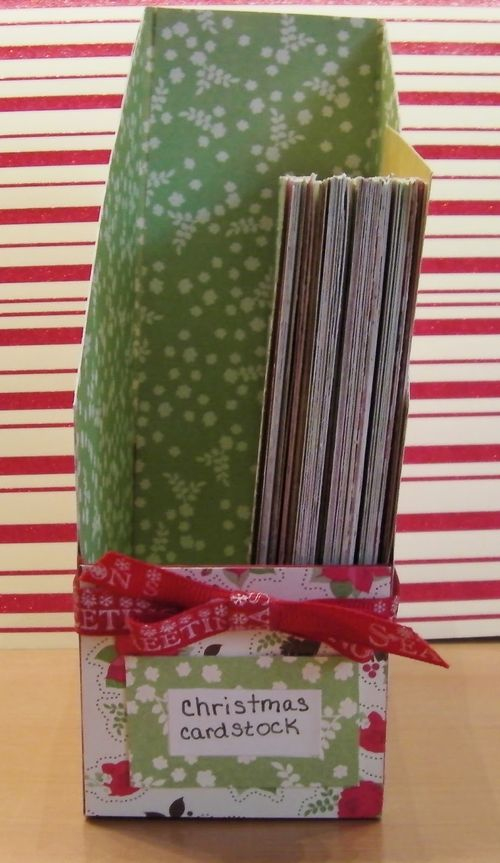 File Folder Box Holder set - Rhonda Zmikly