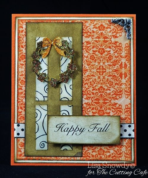 Harvest fall greetings - Lisa Snowdy