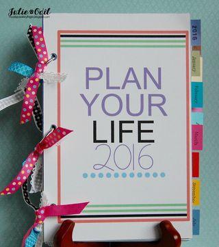 2016 full planner - Julie Odil