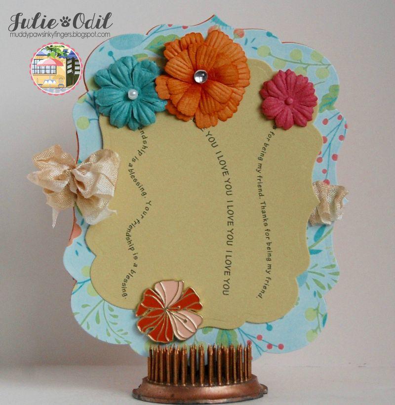Julie Odil - Sentiment stems and flower tops