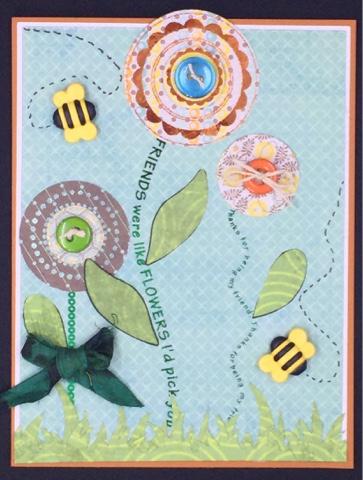 Keri parish- Sentiment stems and flower tops