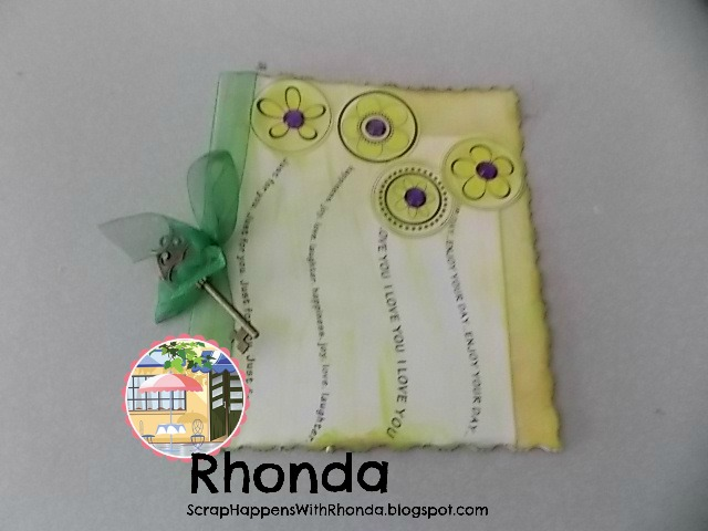 Rhonda Emery - Sentiment stems and flower tops