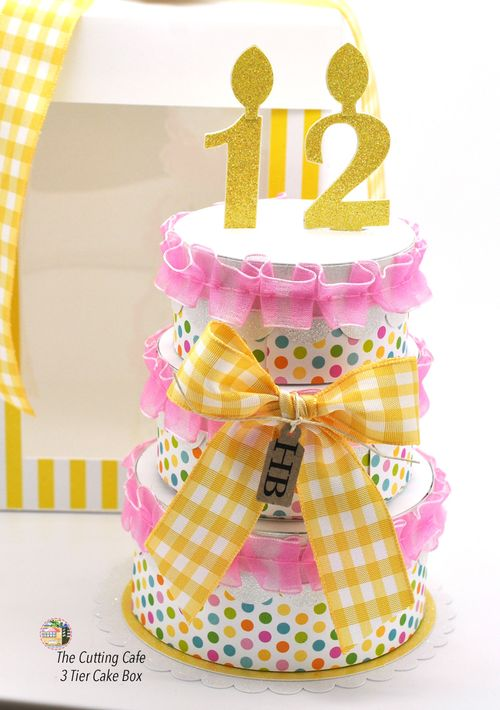 3 tier just cake