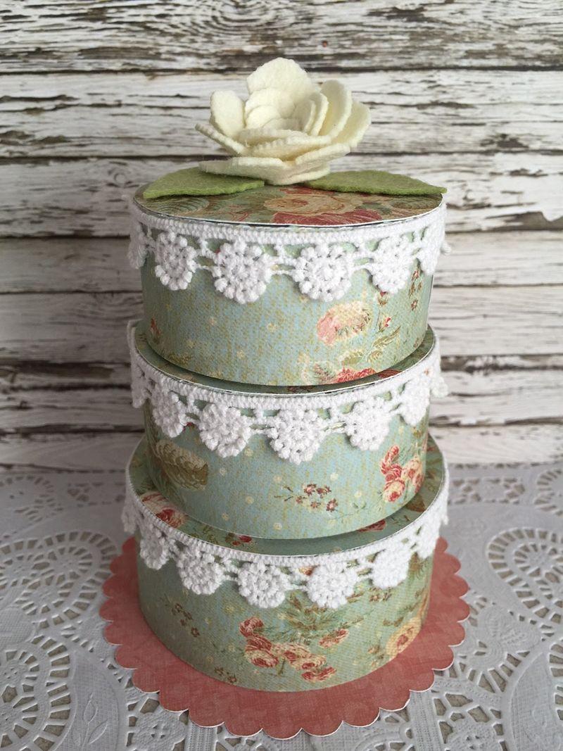 Jeri thomas - 3 tier cake
