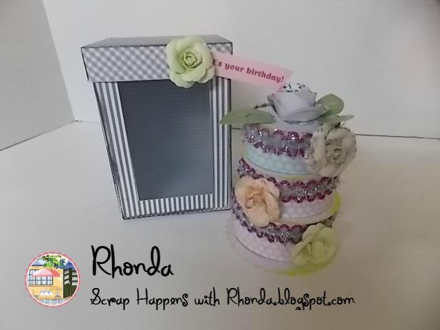 Rhonda emery - 3 tier cake