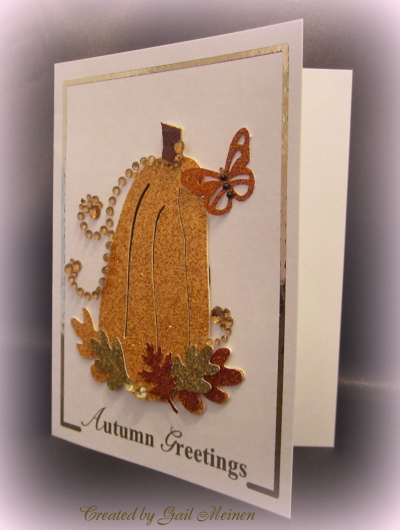 Autumn sentiment card frames - Debbie B.