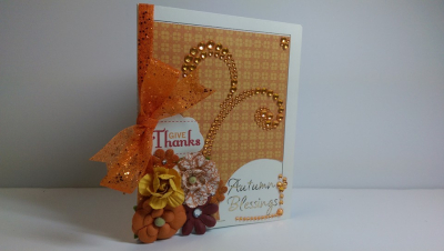 Autumn sentiment card frames - shanta newby