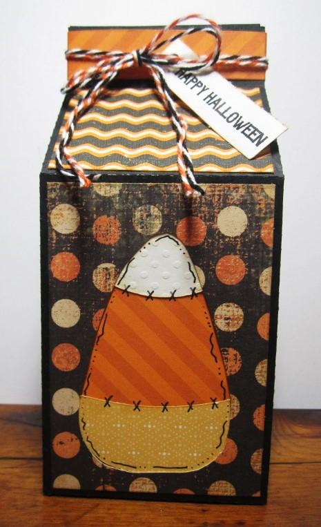 Halloween and fall milk cartons - Debbie Fisher