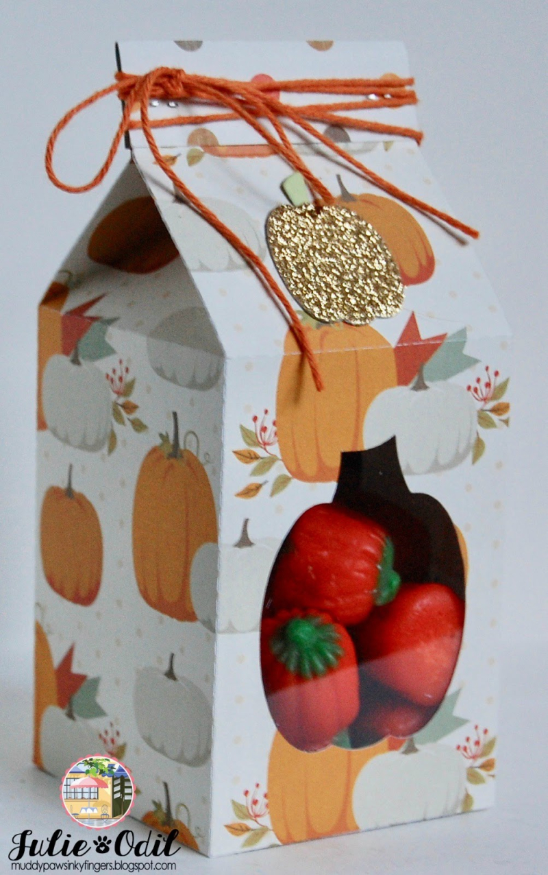 Halloween and fall milk cartons -JULIE ODIL