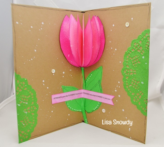 Tulip pop up - lisa snowdy
